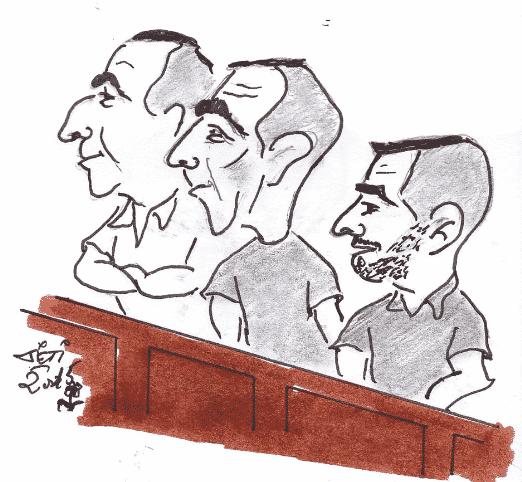 Prison ferme pour le trio de cambrioleurs de l'été 2014