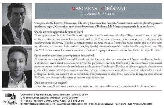 Le Point - Mascaras - Cérésiani